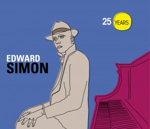 Cover CD Edward Simon 25 Years Final